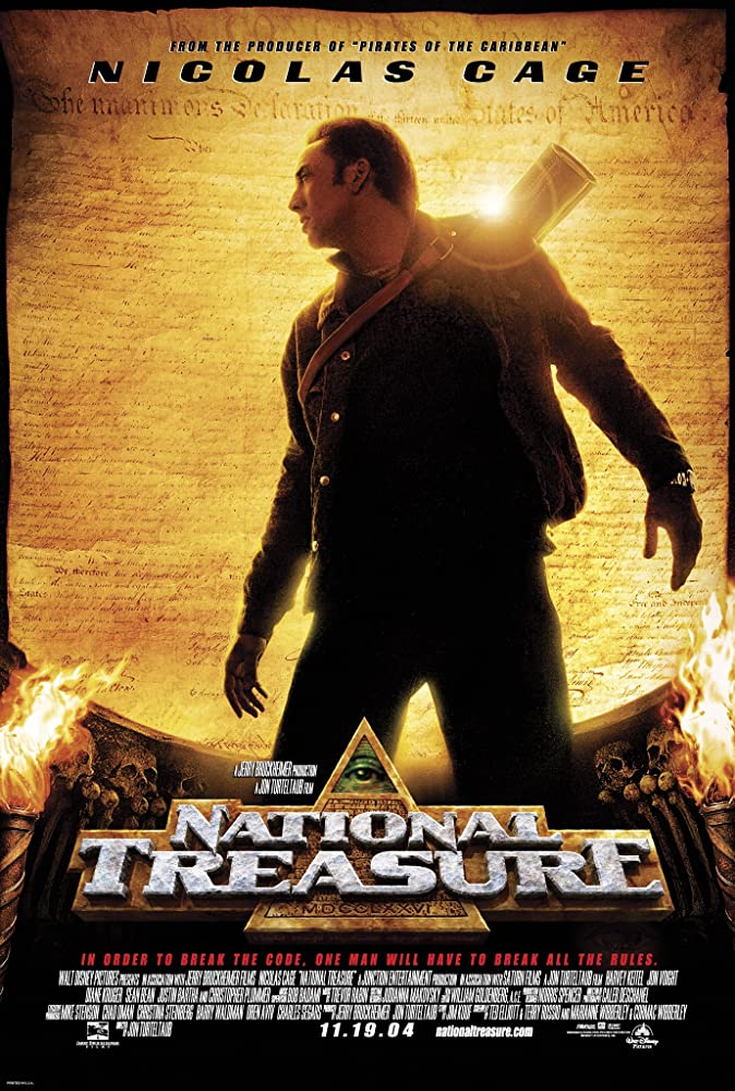 download national treasure 2004