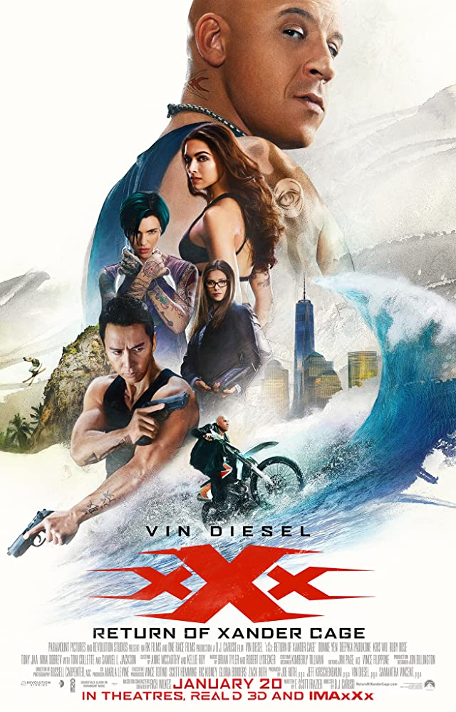 download return of xander cage 2017